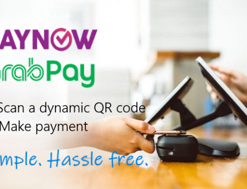Scan & Pay with our mobile payment: PayNow & GrabPay