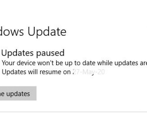 Avoid Printing problem – Pause Latest Microsoft Windows Update!