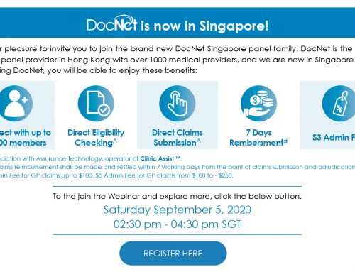 Webinar: Introduction DocNet Singapore 5 September 2020